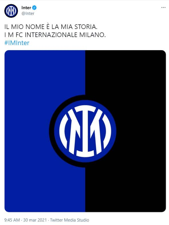 logo inter twitter