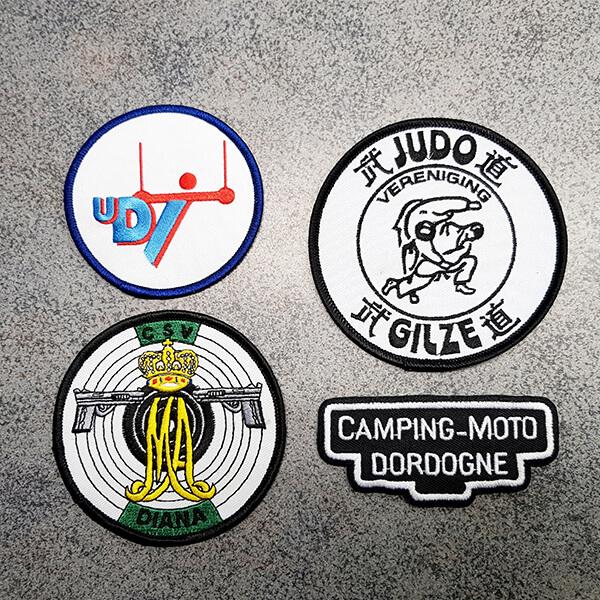 Borduren Badges Emblemen Sport Print