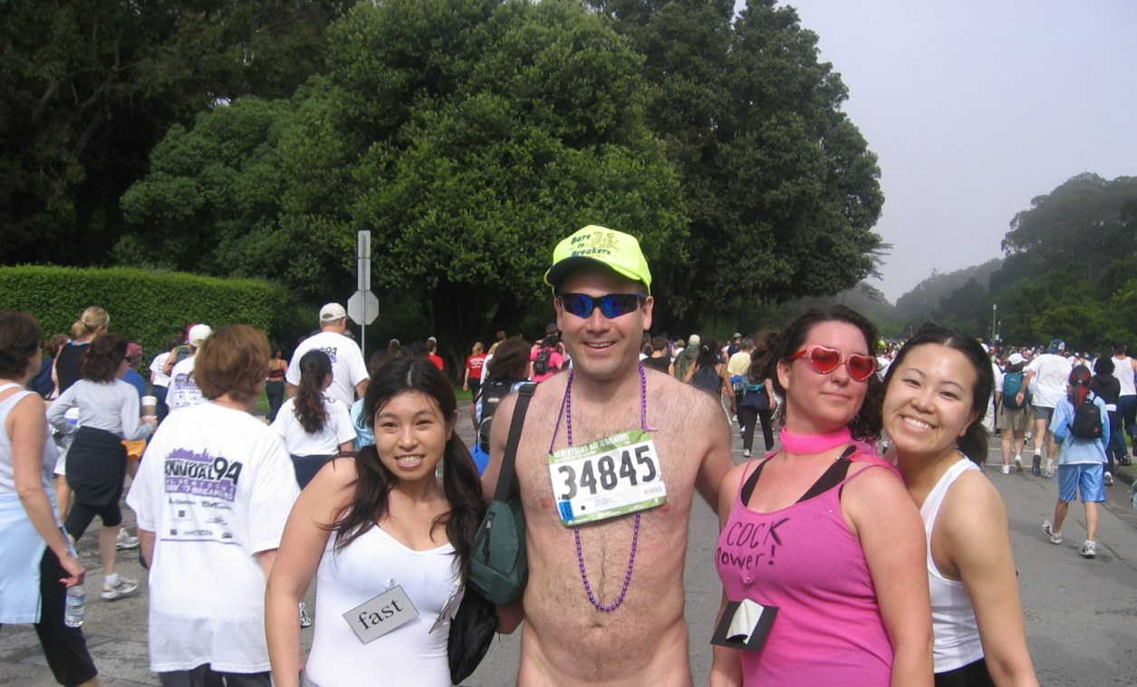 At Bay To Breakers Race In San Francisco, Running Naked Is -8174