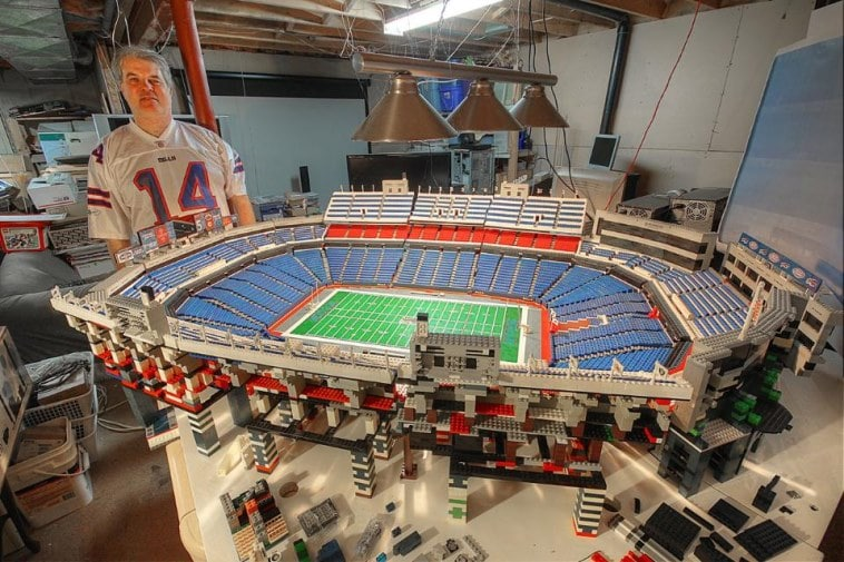 size 40 a4710 97d33 Bills fan uses over 30,000 Legos to build Ralph Wilson ...