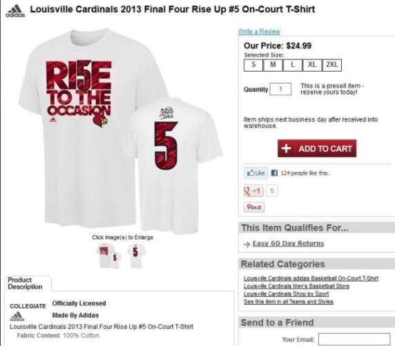 louisville-cardinals-kevin-ware-t-shirt