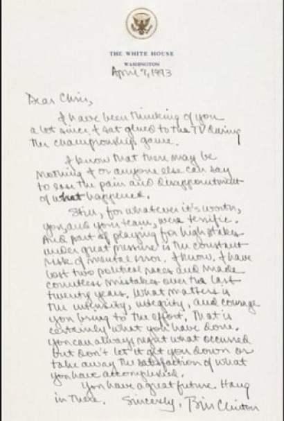 president-clinton-letter-chris-webber