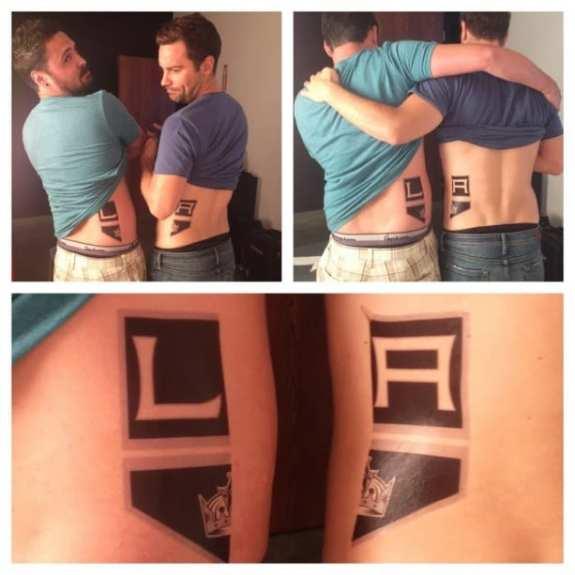 los-angeles-kings-temporary-tattoos