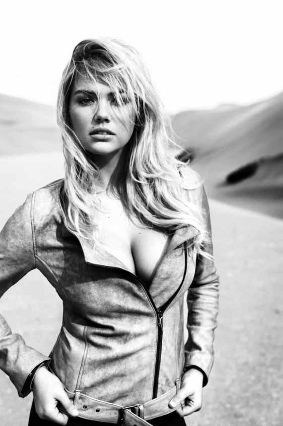 Kate Upton sizzles in Redemption Choppers campaign