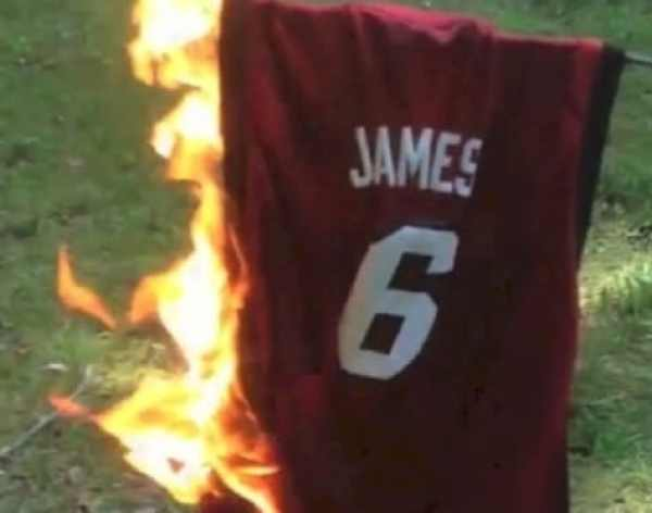 newest collection 5a6db fdc5a And So It Begins, Part II: Let the LeBron James-Heat jersey ...