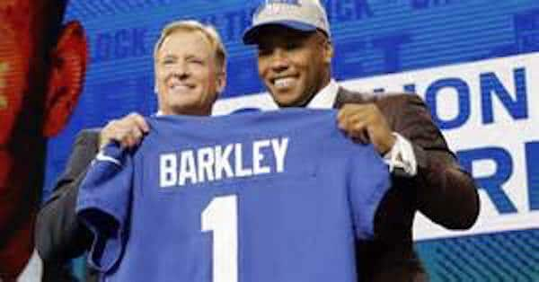 check out 0d89f d2563 Report: Saquon Barkley jersey sales break draft-night record ...