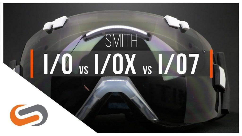 18b580e60d SMITH I O vs I OX vs I O7 Goggles
