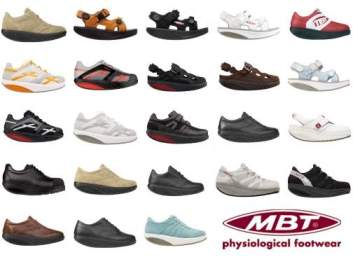 Die MBT Schuh Kollektion
