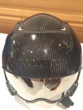 Uvex-Carbon-Skihelm-Visir-Garage-Skibrille-oben