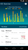 Fitbit-App-Exercise-Zones