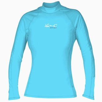 IQ-UV-Slimfit-UV-Schutz-Kleidung-Langarm-Shirt-blau