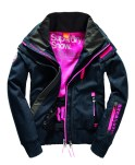SUPERDRY SNOW - SNOW WIND BOMBER - DENIM -ú224.99