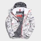 SUPERDRY SNOW - WIND YACHTER - SNOW CAMO -ú89.99