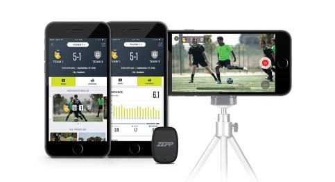 Zepp-Play-Football_App + Sensor