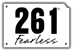 261 Fearless Primary Logo Vector