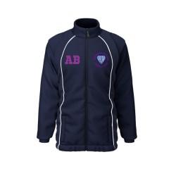 Charnwood Rutland Netball Club Mesh Lined Showerproof Jacket