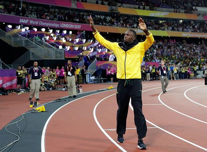 Usain Bolt, dijo adiós