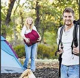 Preparados para acampar en la selva