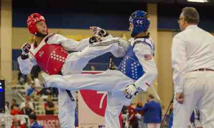 Andrés Eduardo Ho Lee. Talento taekwondo