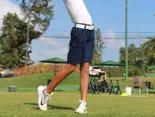 Diego Álvarez, futuro del golf