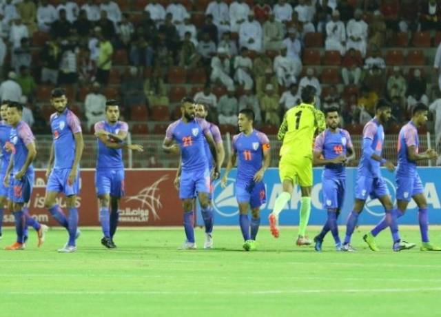 Indian football team slipped from 106th to 108th in FIFA Rankings