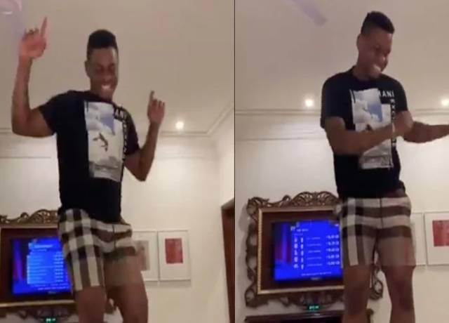Shimron Hetmyer crazy dance moves after DC buy for Rs 7.75 crore at IPL 2020 Auction