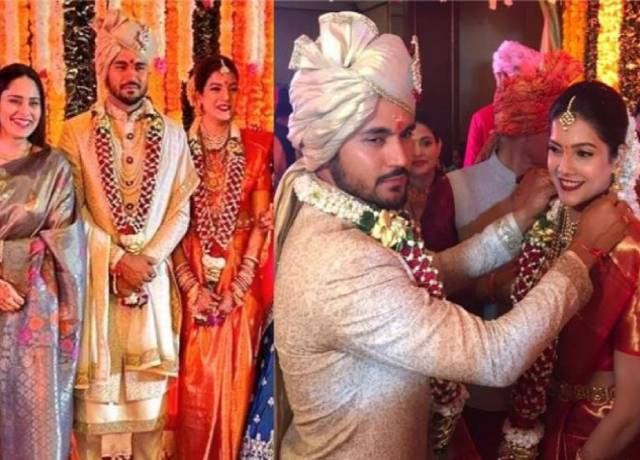Pandey gets married to Tamil actress Ashrita Shetty