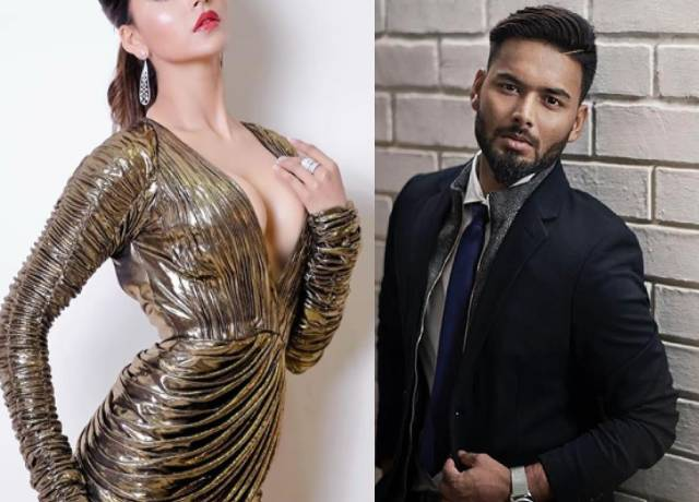rishabh Pant on a dinner date with urvashi rautela before the t20 match