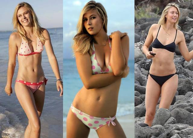 This is why Maria Sharapova is called glamor girl of tennis