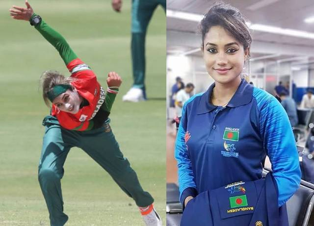 Beautiful Bangladeshi woman player became crush of social media fans