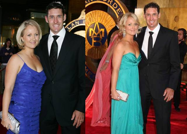 Michael Hussey's wife amy hussey is very beautiful and hot