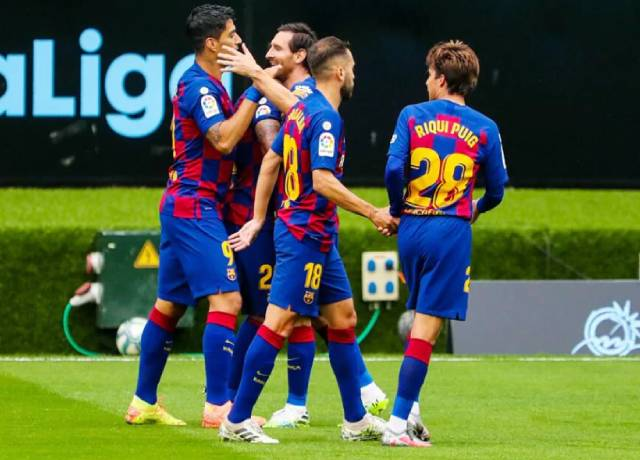 La Liga : Barcelona's 2-2 draw with Celta Vigo