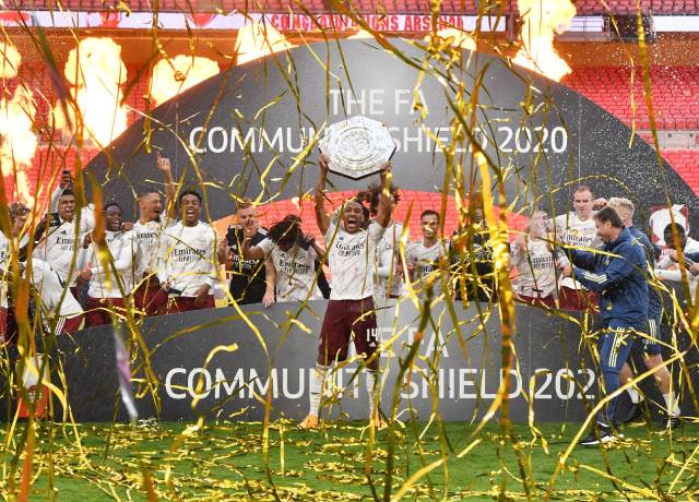 Arsenal beat Liverpool 5-4 on penalties to win the FA Community Shield 2020