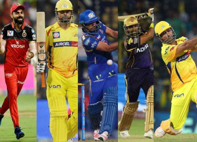 These indian cricketer most valuable batsmen of IPL