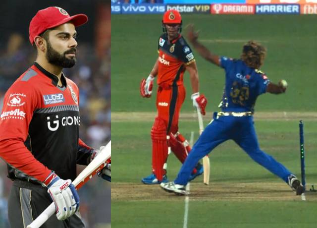 IPL : When Virat kohli Angry On The Wrong Decision of Umpire