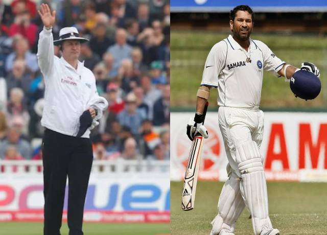 Simon Taufel recalls conversation with Sachin Tendulkar regarding a wrong decision