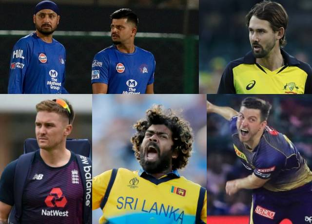 Seven Players pulled out of IPL 2020, See list