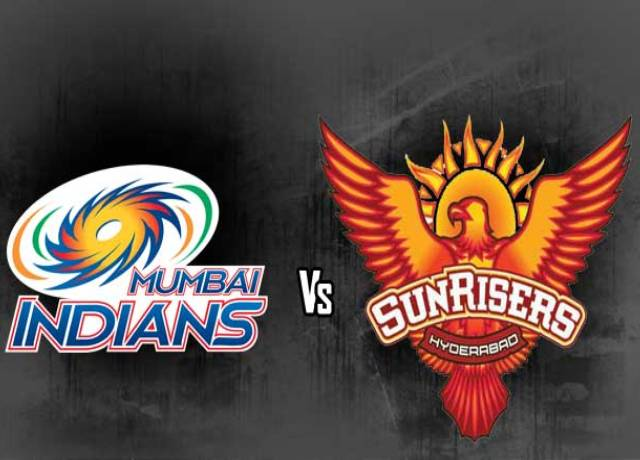 Dream11 IPL : MI vs SRH