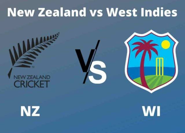 NZ vs WI, 1st T20I live streaming & score