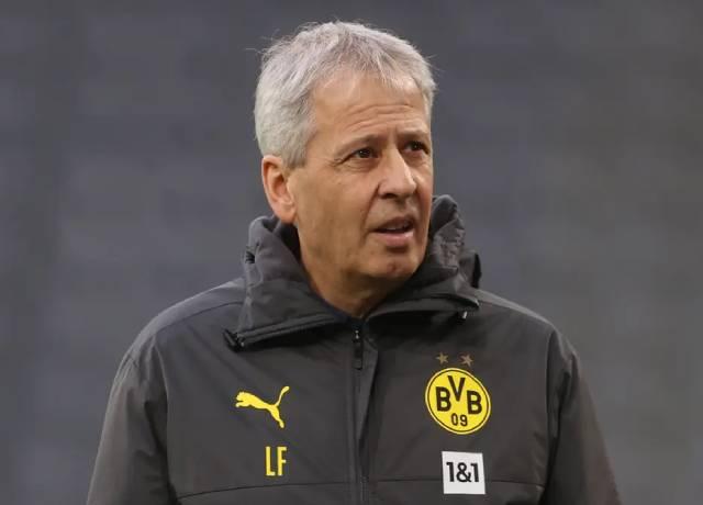Dortmund sacked its head coach Lucien Favre