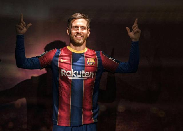 Messi's Wax statue unveiled