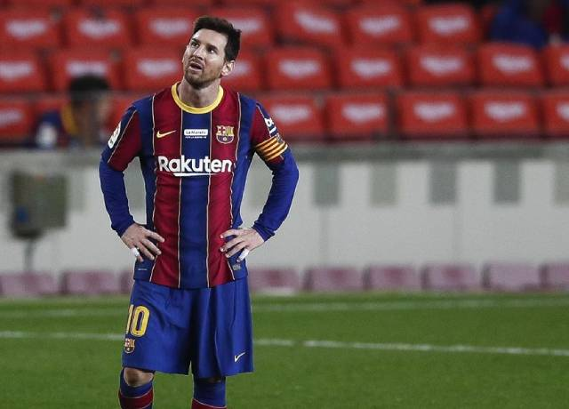 Playing without spectators is bad and terrible, said Messi