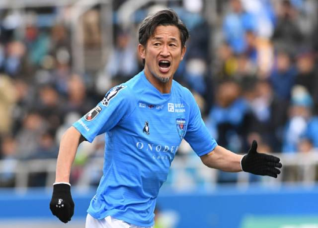 Kazuyoshi Miura is the oldest football player on earth
