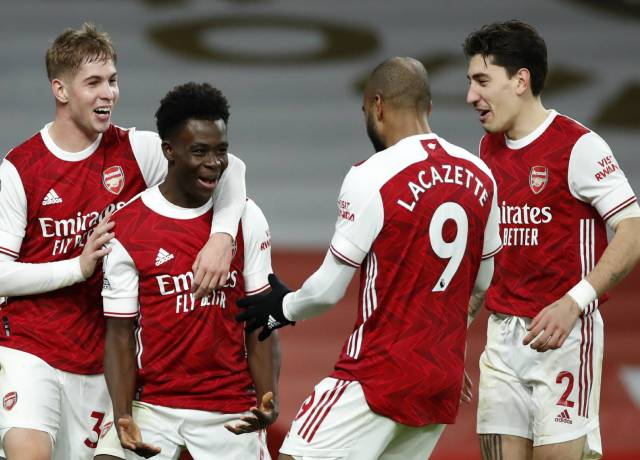 Arsenal wins back to back matches