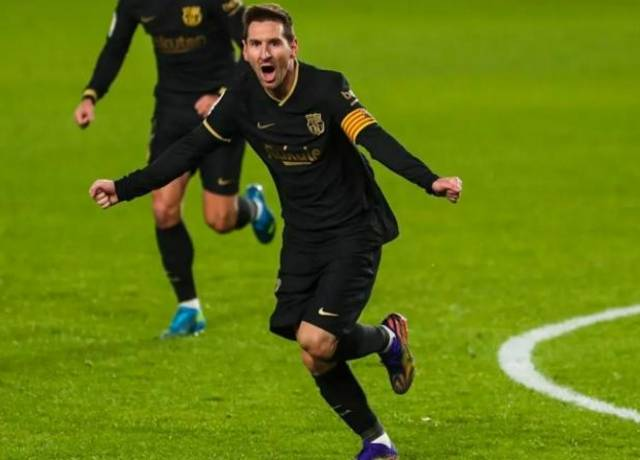 A good news for Barcelona, Messi is back in form