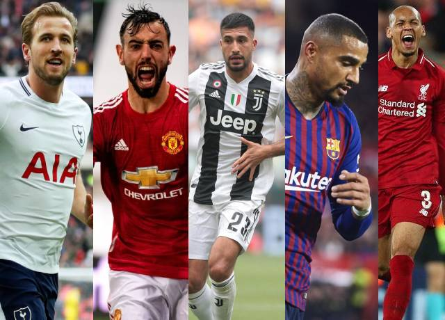 Did you know? These players have played for these clubs