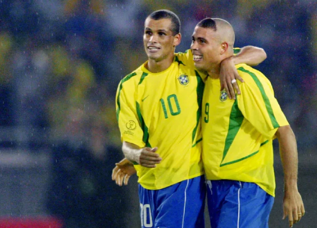 Ronaldo and Rivaldo