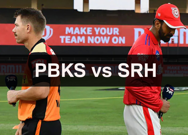 IPL 2021: PBKS vs SRH 14th Match Dream11 Prediction and Fantasy Playing Tips