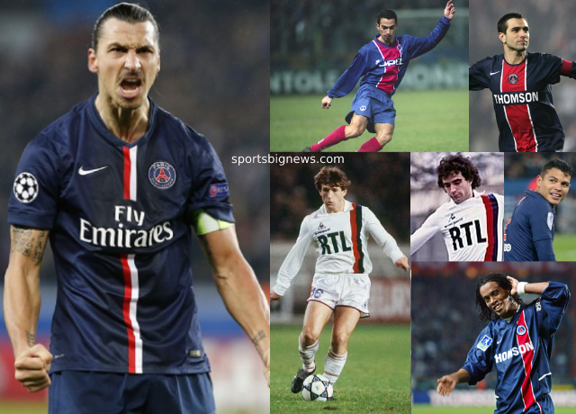 Top 10 greatest PSG players of all time