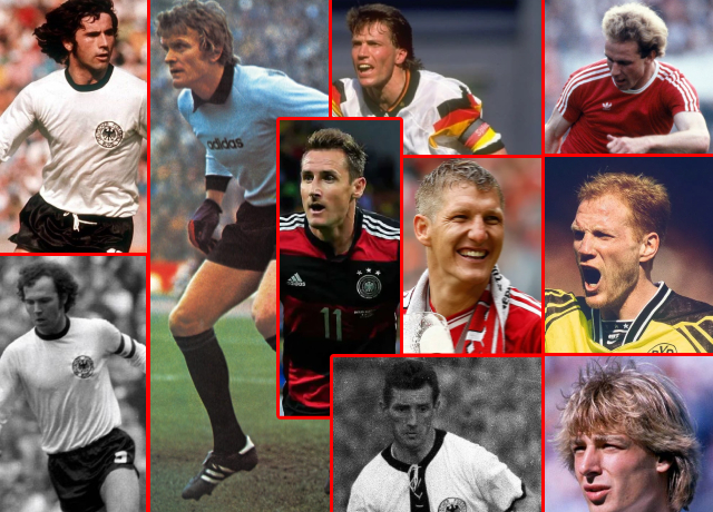 Top 10 greatest German players of all time
